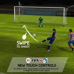 FIFA 14 sur mobile : tirs, dribbles, et zlatanes sur iOS et Android dès cet automne