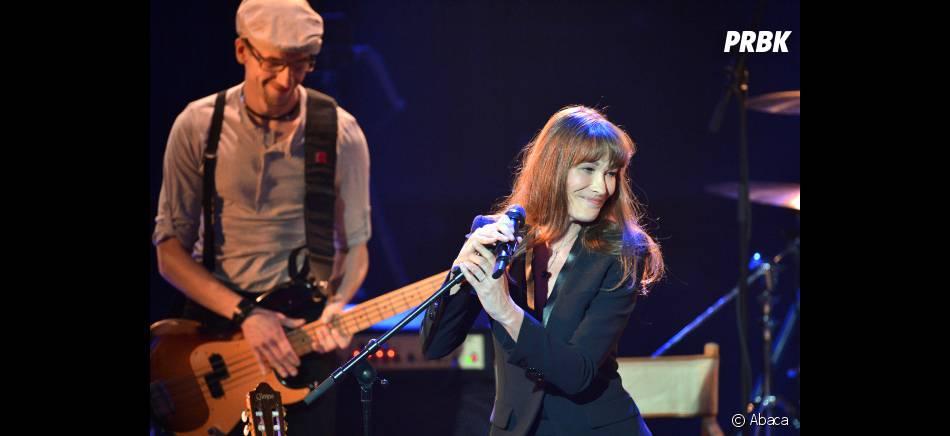 "Carla Bruni a sorti l'album ""Little French Songs"" le 1er avril 2013"