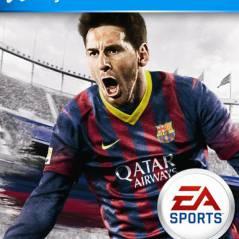 FIFA 14 : Lionel Messi tape la pose sur la jaquette officielle