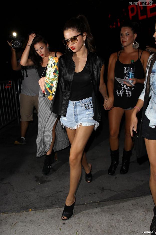Selena Gomez et ses copines, le 1er juillet 2013 au concert de Beyoncé à L.A