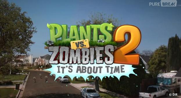 Plants VS Zombies 2 sort sur iOS