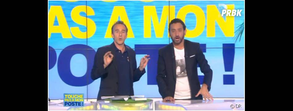 Elie Semoun s'incruste dans l'équipe de Cyril Hanouna