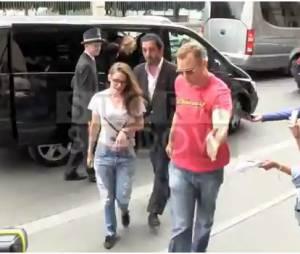 Kristen Stewart insulte les photographes, le 4 juillet 2013 à Paris