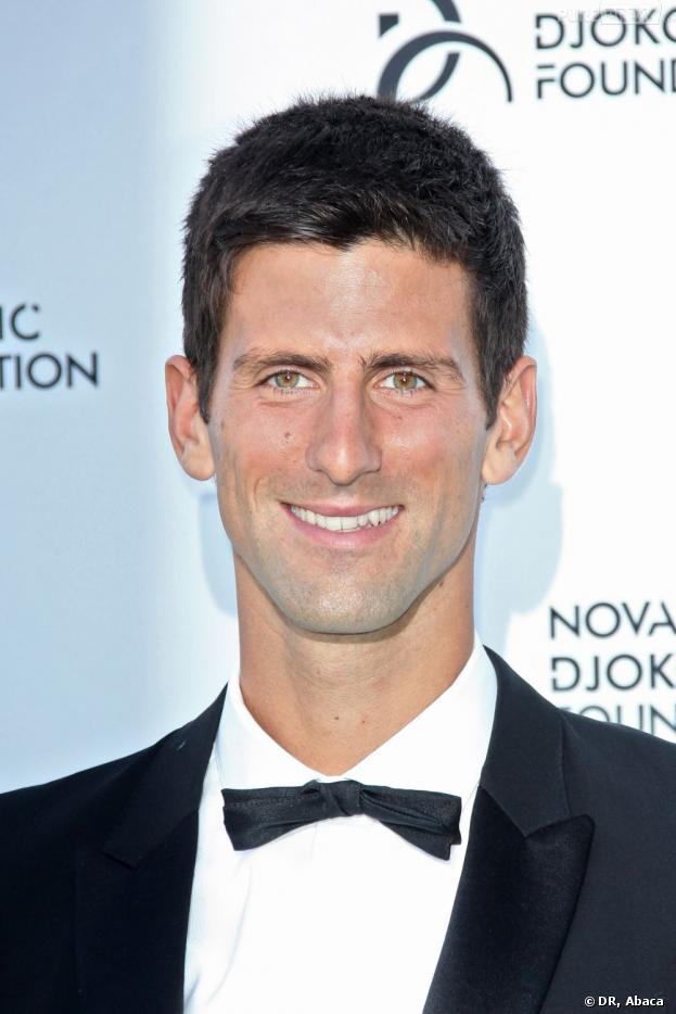 Novak Djokovic a récolté 1,5 millions d'euros en faveur des enfants serbes défavorisés le 8 juillet 2013.