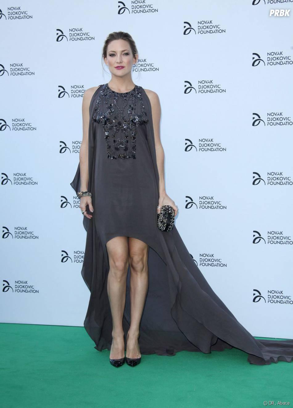 Kate Hudson lors du dîner de charité de Novak Djokovic à Londres le 8 juillet 2013.