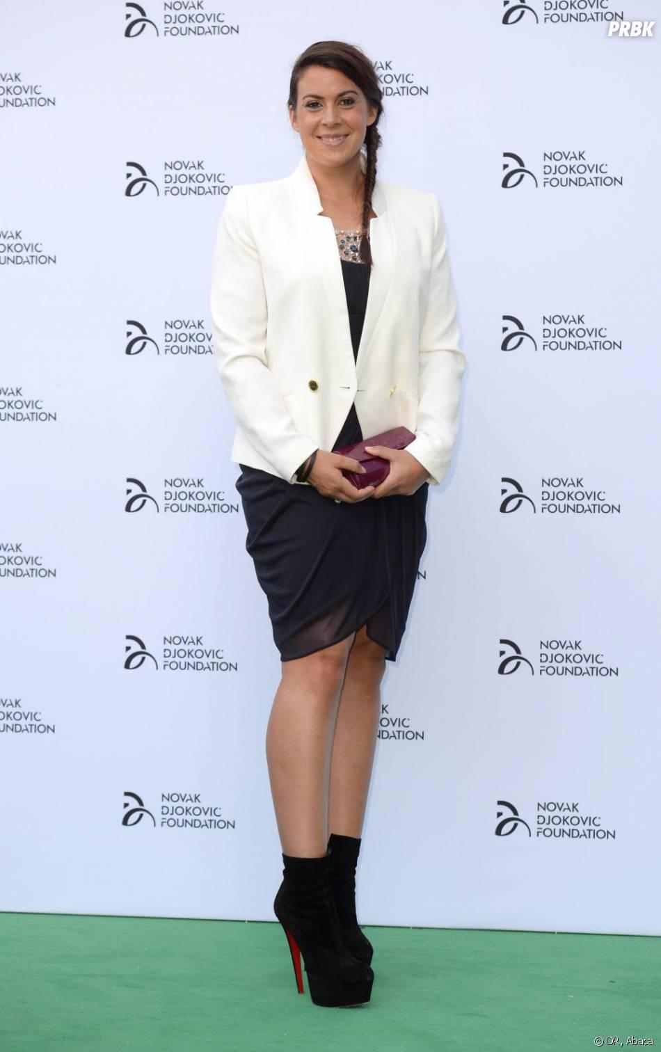 Marion Bartoli, grande gagnante de Wimbledon 2013, à Londres le 8 juillet 2013.