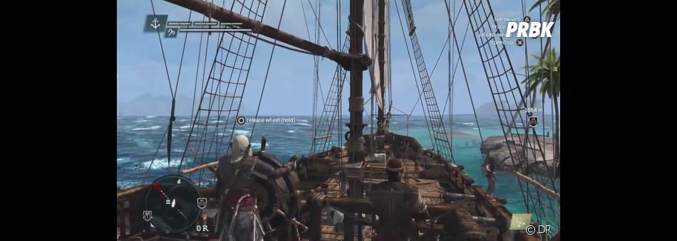 Assassin's Creed 4 Black Flag : devenez le capitaine de l'un des plus grands bâteaux pirates