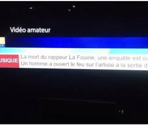 La Fouine annoncé mort dans une fausse vidéo