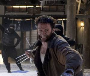 Hugh Jackman en pleine action dans The Wolverine