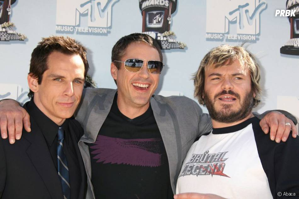 Ben Stiller, Robert Downey Jr et Jack Black aux MTV Movie Awards 2008