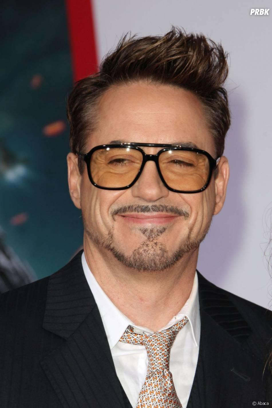 Robert Downey Jr pendant l'avant-première à L.A d'Iron Man 3, le 24 avril 2013