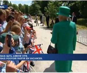 Elizabeth II se confie sur l'accouchement de Kate Middleton