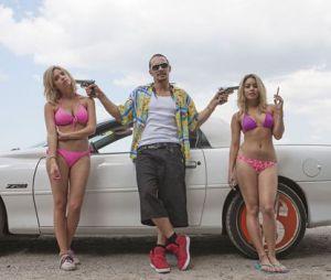 Ashley Benson, James Franco et Vanessa Hudgens dans Spring Breakers