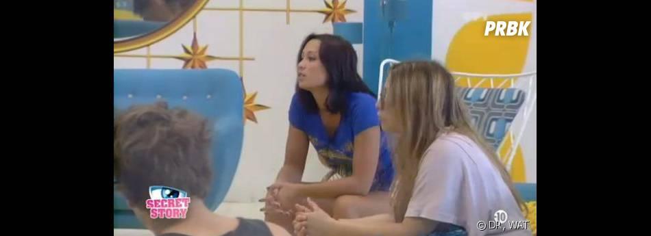 Secret Story 7 : Emilie s'attire les foudres d'Anaïs dans la Maison des secrets.