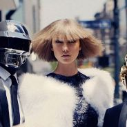 Daft Punk et Karlie Kloss : photoshoot robotique et sexy pour Vogue US