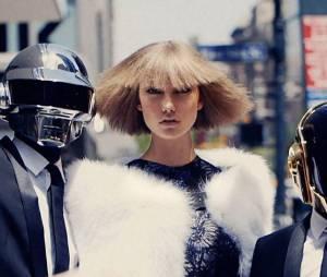 Daft Punk et Karlie Kloss : la vidéo du photoshoot pour Vogue US
