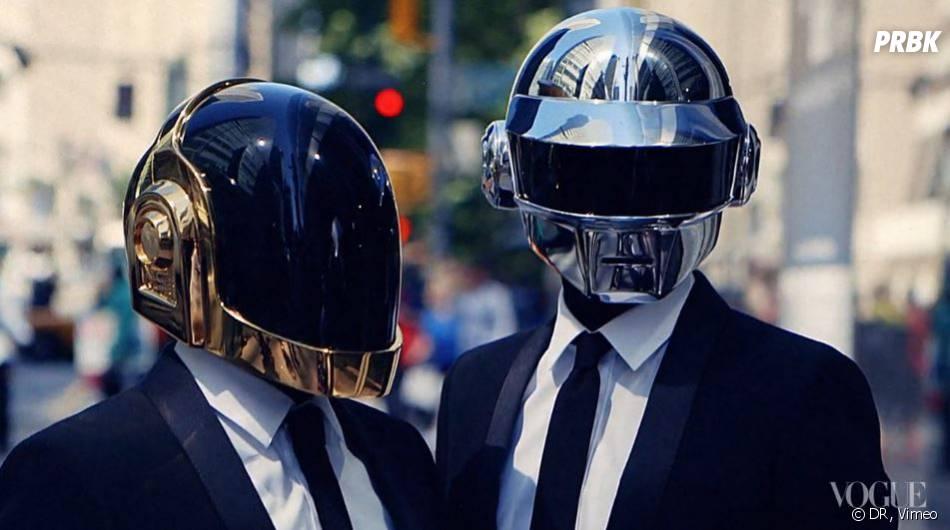 Daft Punk : un photoshoot à New-York pour le magazine Vogue