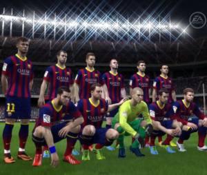 FIFA 14 s'accocie au FC Barcelone en vidéo