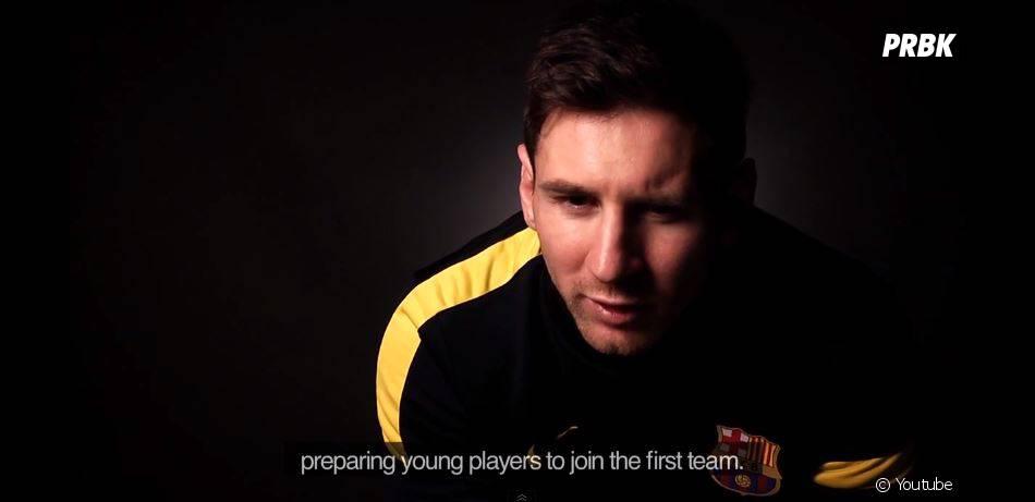 FIFA 14 : Messi parle de son expérience au FC Barcelone