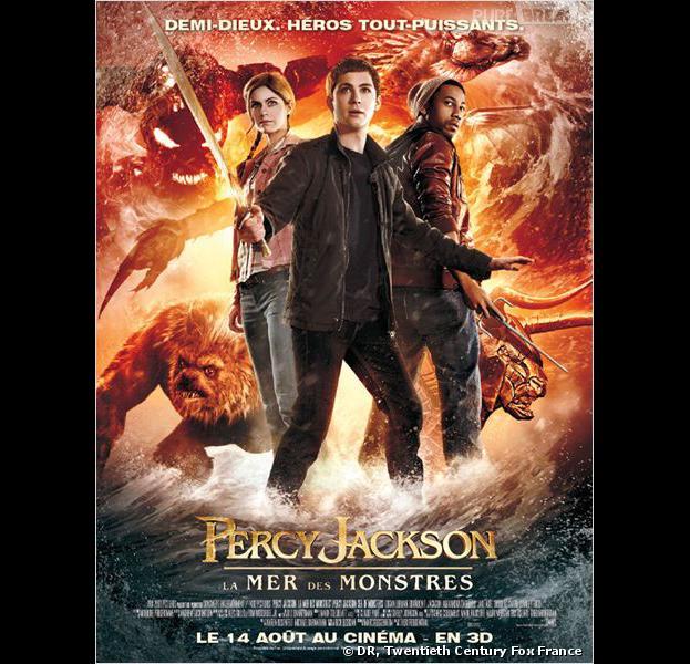 Percy Jackson : la mer des monstres, l'affiche