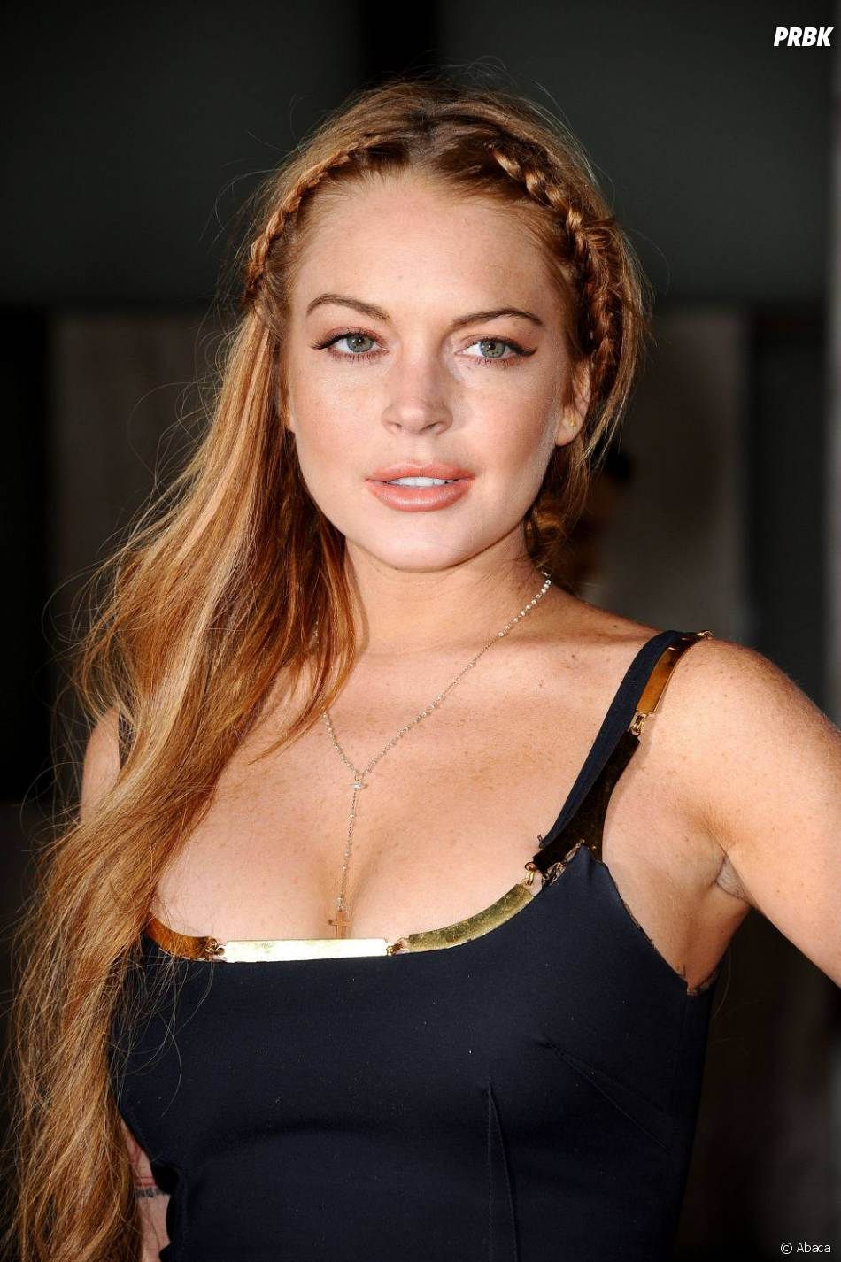 Lindsay Lohan à l'avant-première de Scary Movie 5, le 11 avril 2013 à L.A