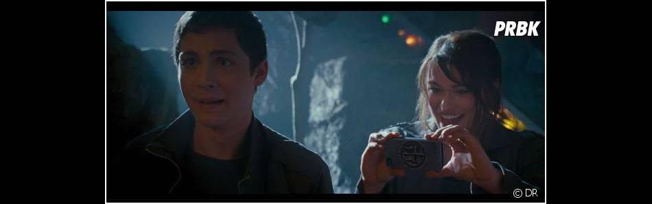 Percy Jackson - La Mer des Monstres : Clarisse se moque de Grover