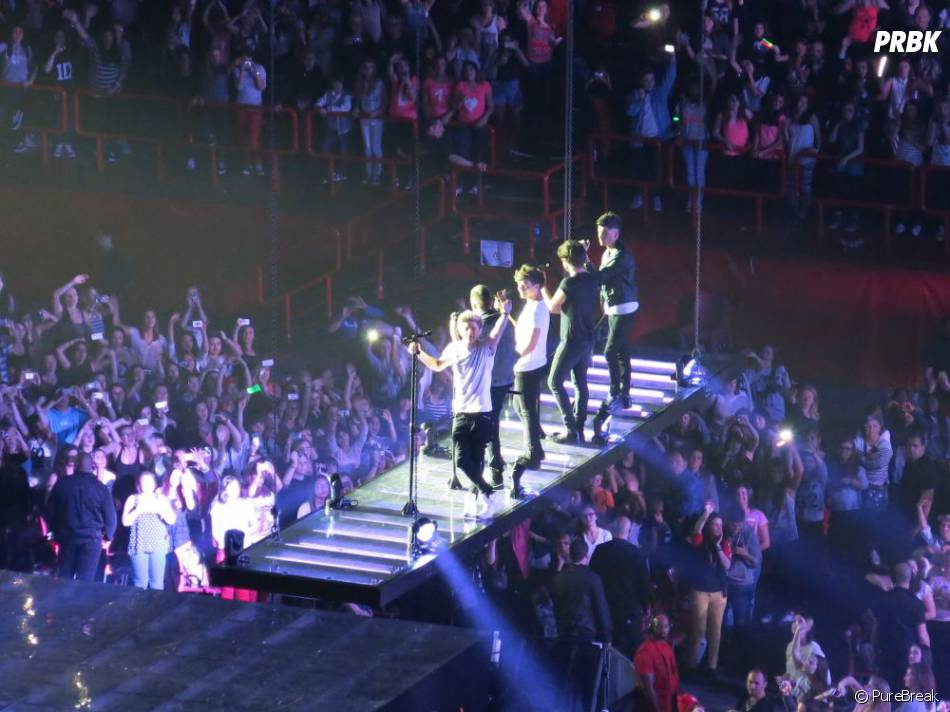 Les One Direction à Bercy, le 29 avril 2013