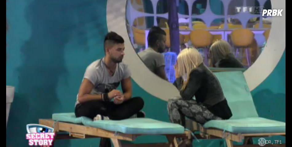 Secret Story 7 : rupture entre Vincent et Alexia.
