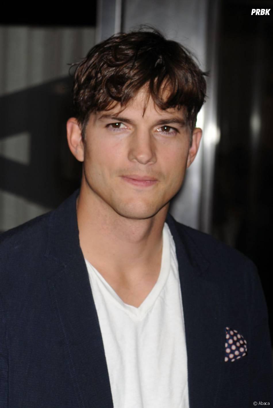 Ashton Kutcher à New York en août 2013