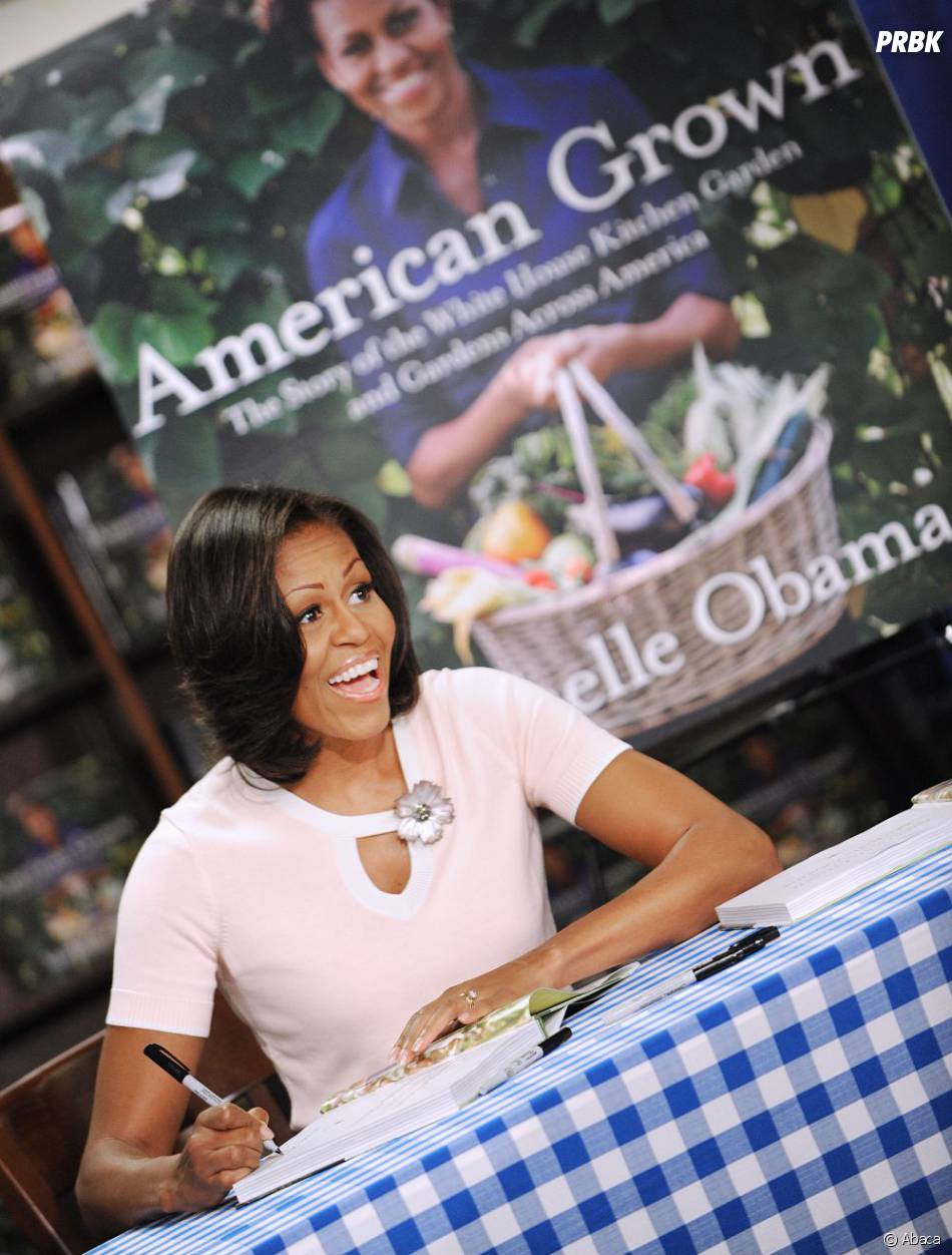 Michelle Obama va sortir un album de rap pour parler de son association qui lutte contre l'obésité