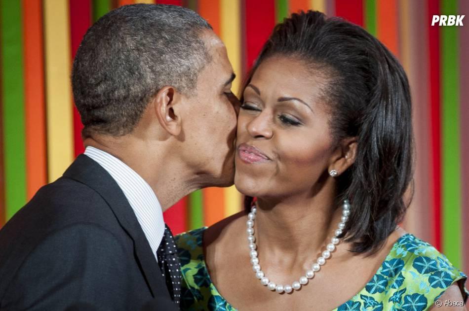 Michelle Obama et Barack Obama ont toujours été très complices