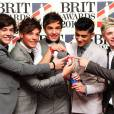 Liam Payne et One Direction aux Brit Awards 2013