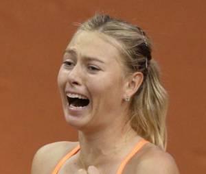 Maria Sharapova est numéro 3 mondial au tennis.