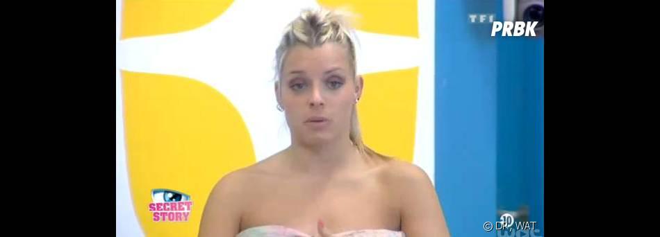 Secret Story 7 : Alexia déçue par le comportement de Vincent dans la Maison des secrets.