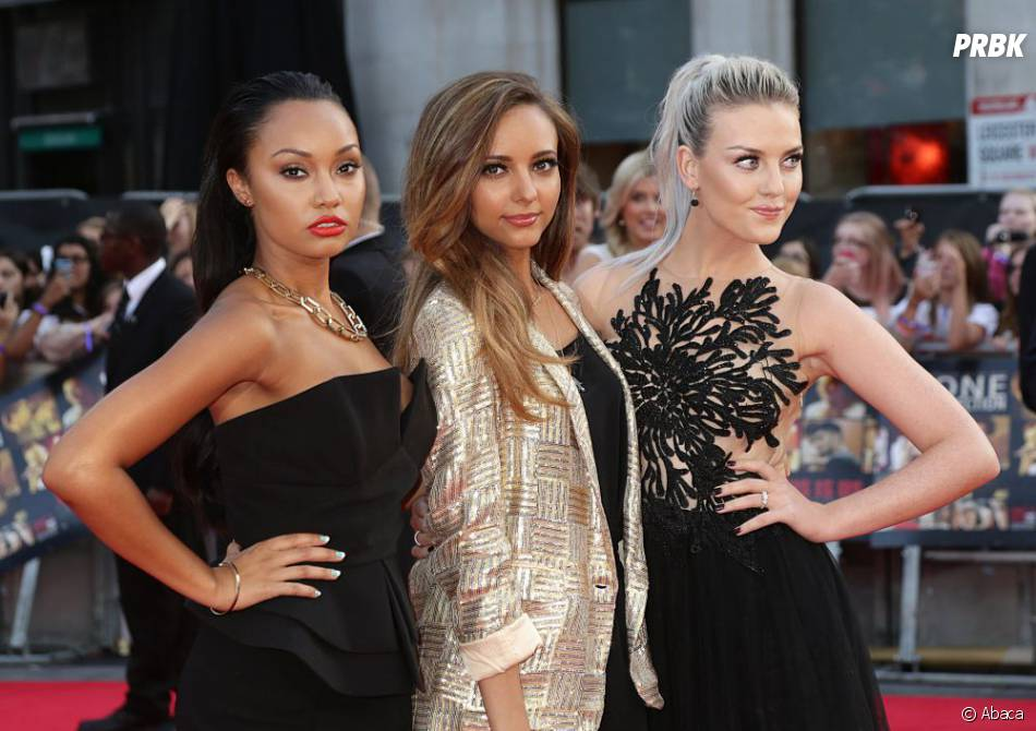 Perrie Edwards et les Little Mix : sexy pour soutenir One Direction, le 20 août 2013 à Londres