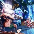 Killer is Dead : le cel-shading offre des séquences de jeu colorées