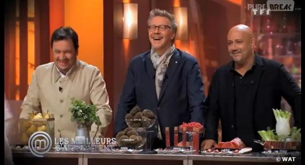 Les membres du jury de Masterchef sur TF1.