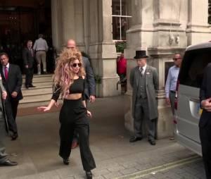 Lady Gaga : son comeback scénique lors de l'iTunes Festival de Londres dimanche soir