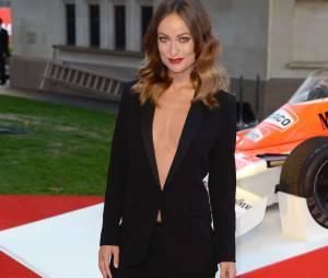 Olivia Wilde prend la pose à l'avant-première du film Rush le 2 septembre 2013 à Londres