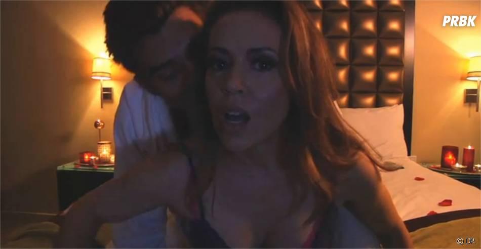 Alyssa Milano ne se prend pas au sérieux dans unefausse sex-tape pour Funny or Die