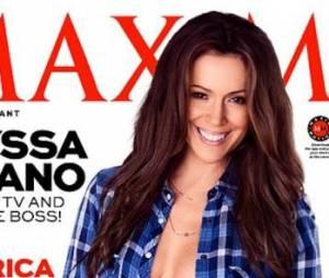 Alyssa Milano sexy pour le magazine Maxim.