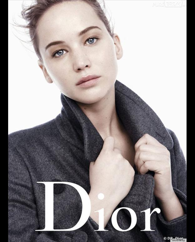 Jennifer Lawrence : égérie 100% naturelle de la campagne Miss Dior automne-hiver 2013