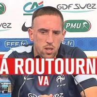 """Franck Ribéry : """"la routourne va vite tourner"""", son nouveau coup de génie"""