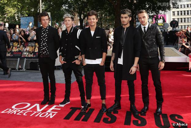 """One Direction : Harry Styles, Zayn Malik, Louis Tomlinson, Liam Payne et Niall Horan ont dévoilé la date de sortie de """"Midnight Memories"""", leur nouvel album"""