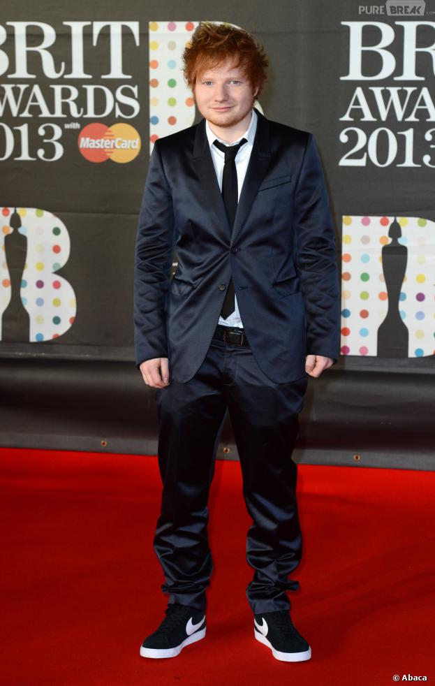 Ed Sheeran aux Brit Awards 2013