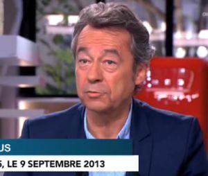 Michel Denisot ne veut pas porter de jugement sur la prestation d'Antoine de Caunes.