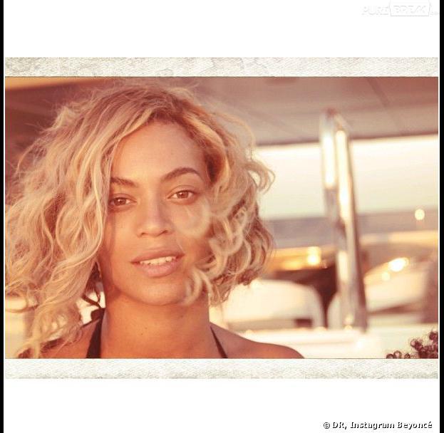 Beyoncé sans maquillage sur Instagram, le 11 septembre 2013