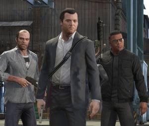 GTA 5 : Trevor, Michael et Trevor, les trois protagonistes du jeu