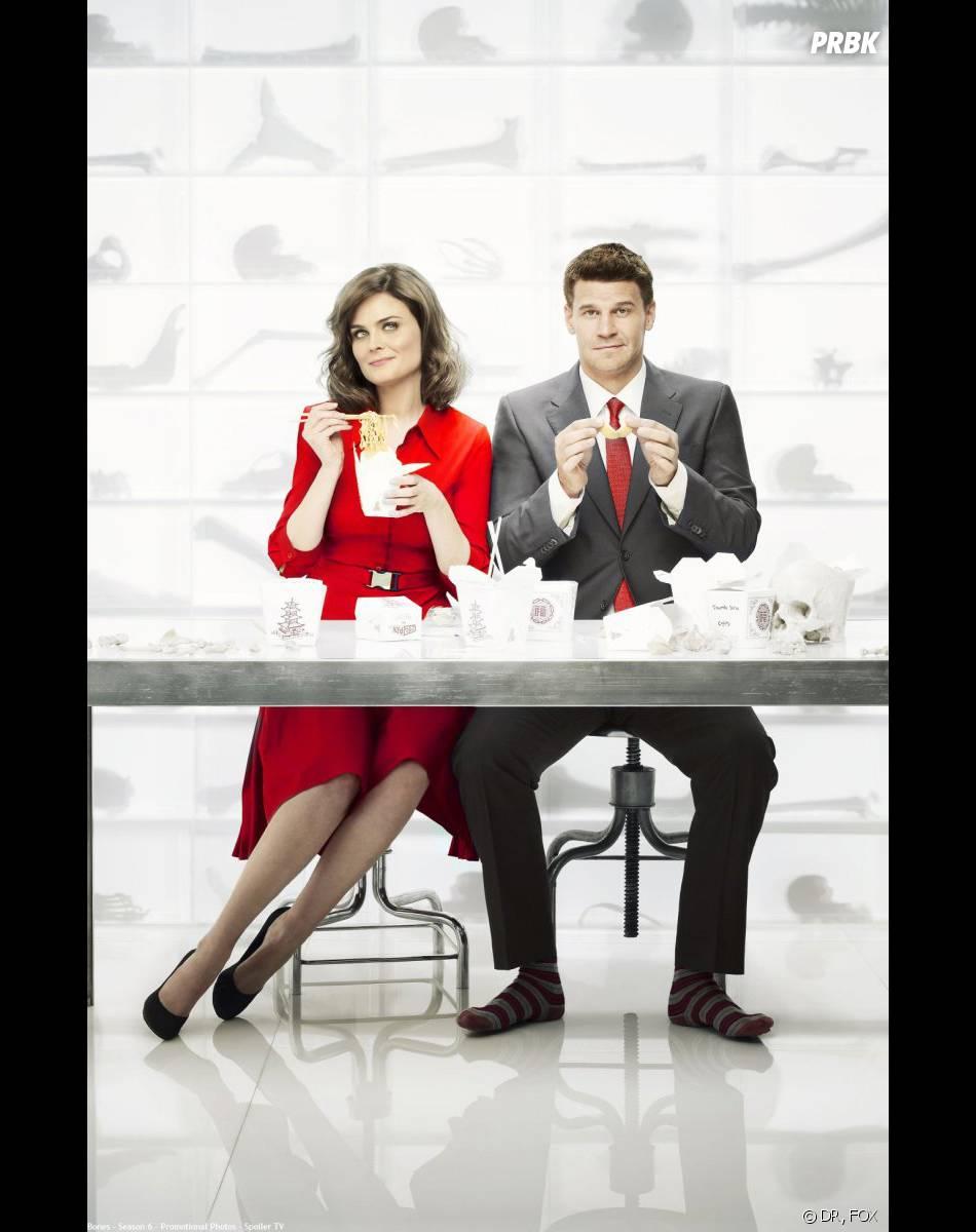 Bones saison 9 : Booth et Brennan enfin mariés