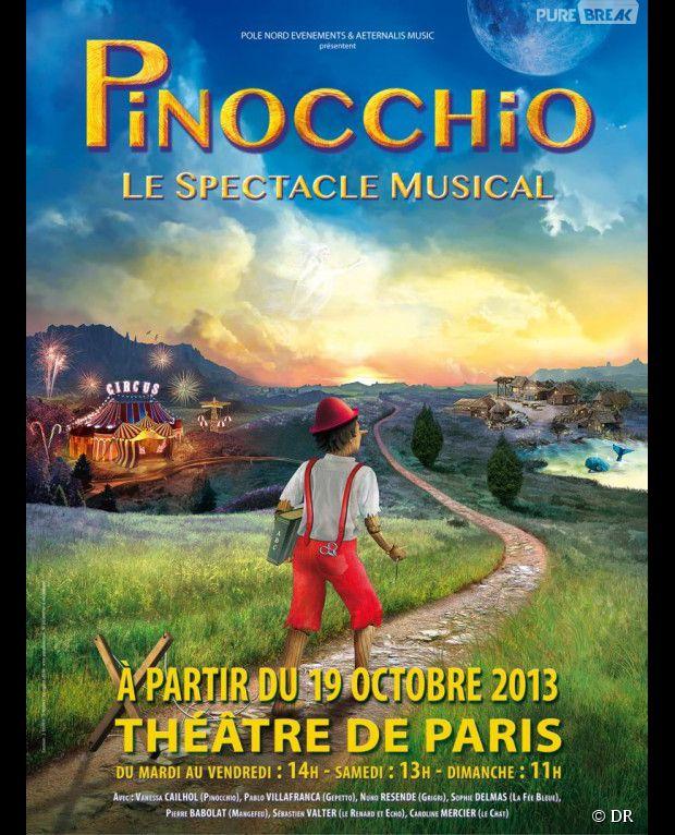 Pinocchio, à partir du 19 octobre 2013 au Théâtre de Paris